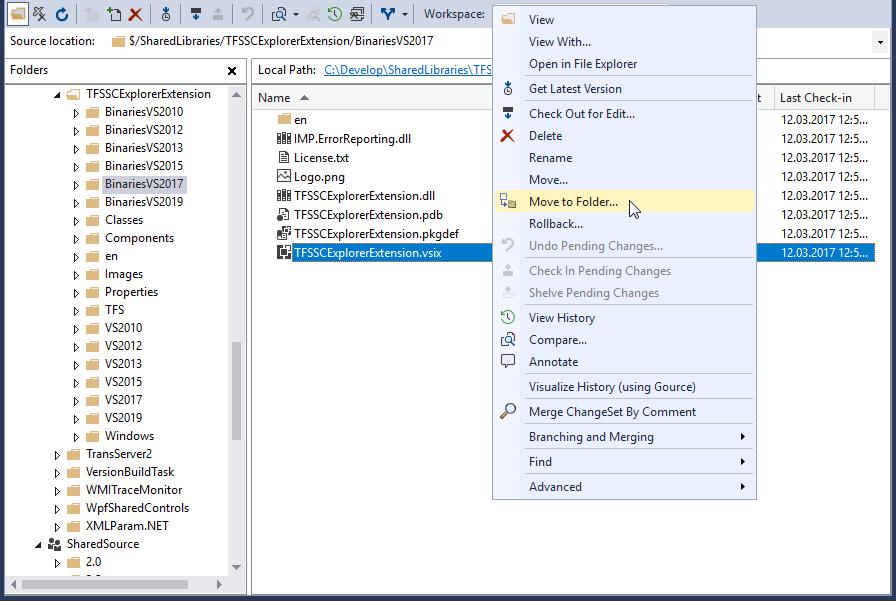 Q: Where do I find the new Visual Studio Team Explorer  ?